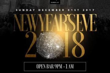 Gilded Lily New Years Eve 2018 !