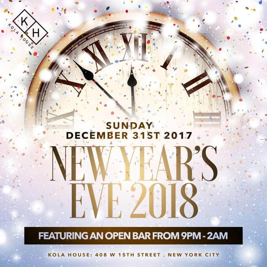 Kola House New Years Eve Buy Tickets Now - Party For New Years