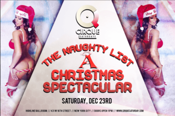 Christmas Spectacular at Highline Ballroom