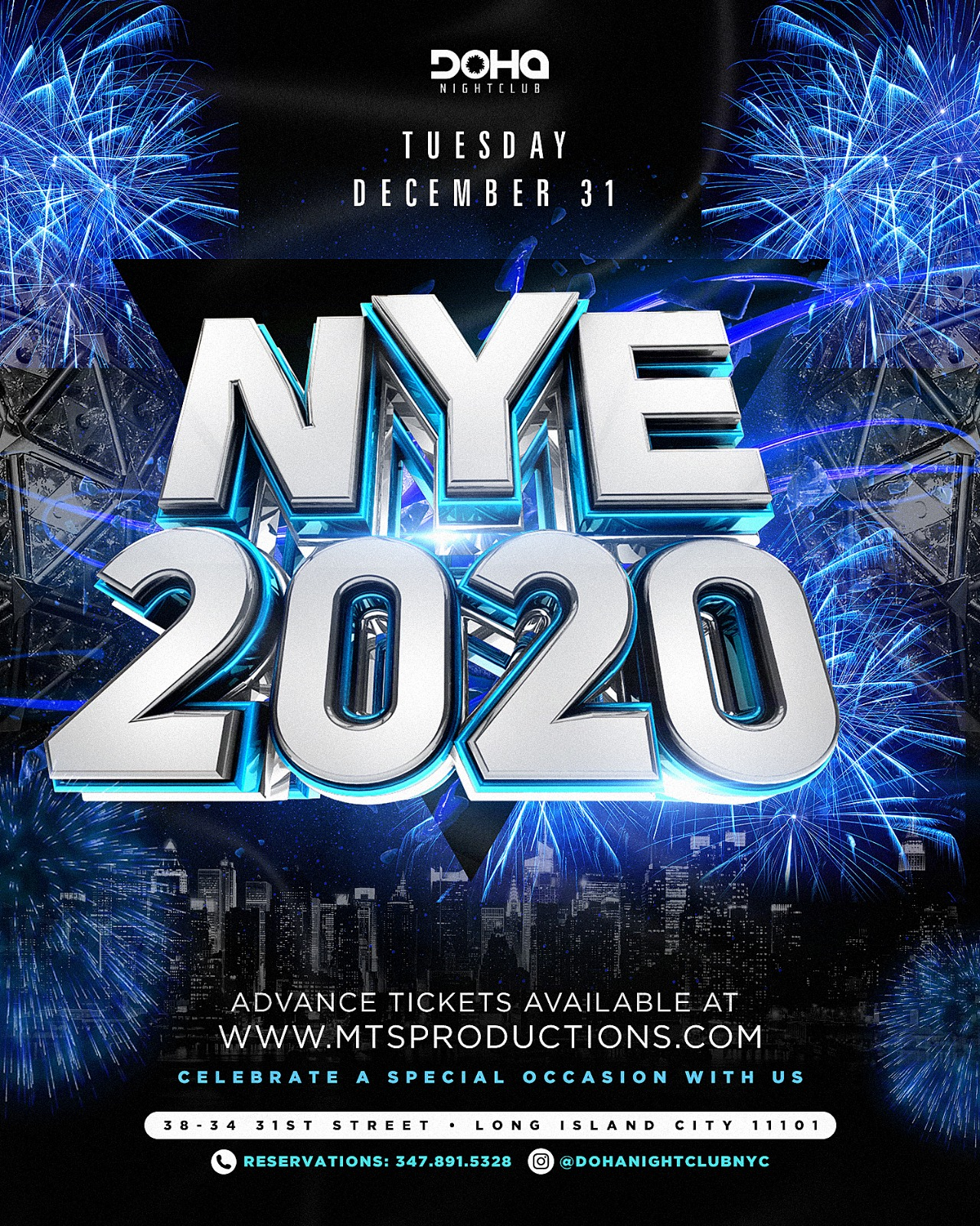 Doha Nightclub new years eve
