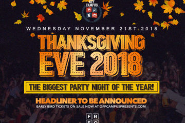 ThanksGiving Eve at FREQ in NYC