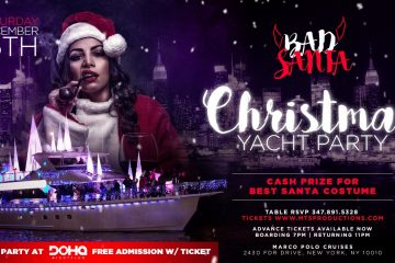 Christmas Eve Yacht Party